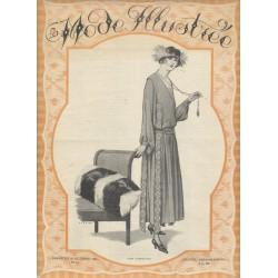 Revue La Mode Illustrée 1921 N°43