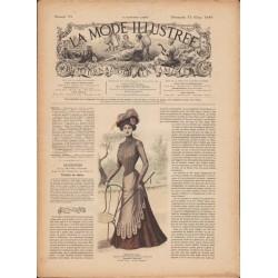 Revue La Mode Illustrée 1899 N°11