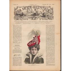 Revue La Mode Illustrée 1899 N°13
