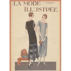 magazine La Mode Illustrée 1924 N°44