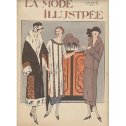 magazine La Mode Illustrée 1924 N°45