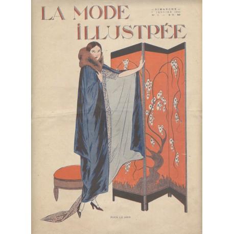 Revue La Mode Illustrée 1923 N°01