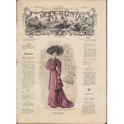 Complete magazine La Mode Illustrée 1908 N°48