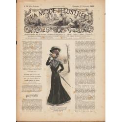 Revue complète de La Mode Illustrée 1899 N°38