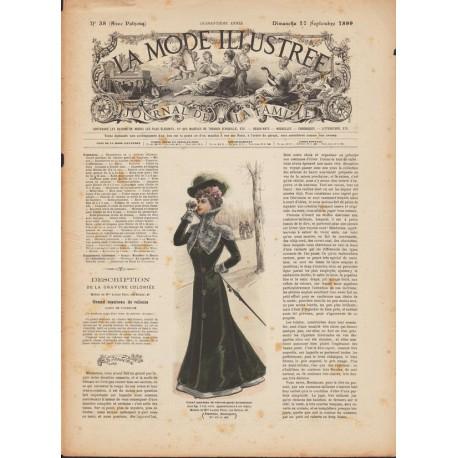 La Mode Illustrée 1899 N°38-vistorienne-mode-paris