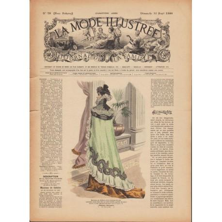 Revue complète de La Mode Illustrée 1899 N°18