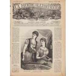 Complete magazine La Mode Illustrée 1889 N°05
