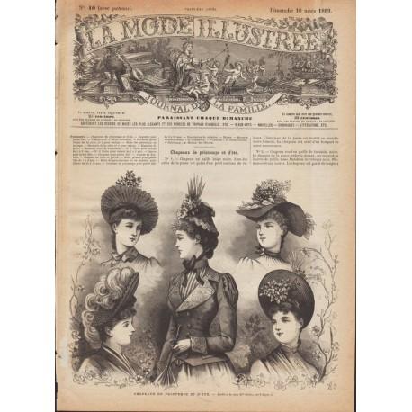 Revue complète de La Mode Illustrée 1889 N°10