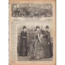 Revue complète de La Mode Illustrée 1889 N°18