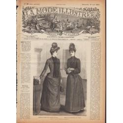 Revue complète de La Mode Illustrée 1889 N°20